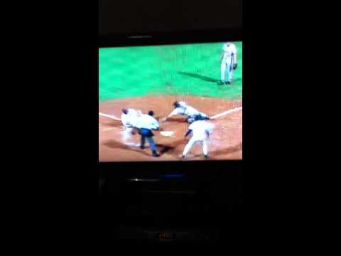 Sid Bream slides and scores the winning run of the 1992 NLCS klip izle