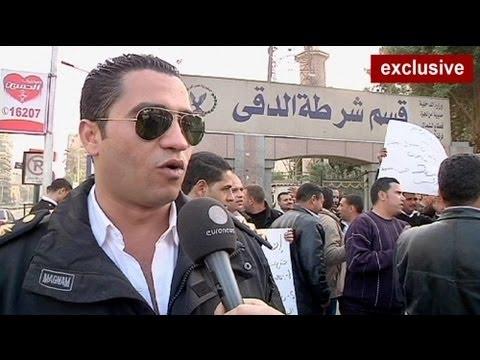 اعتراض پلیس مصر به غیرمسلح بودن نیروهای عادی پلیس