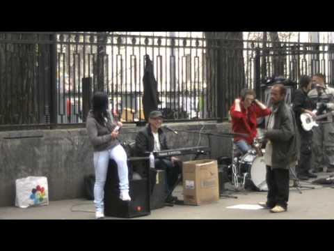 Уличные музыканты на Арбате - 28.04.11