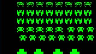 Space Invaders - Commodore PET - MAME MESSUI64 v0.171 emulator