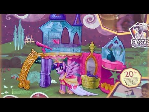 Crystal Palace + Twilight Sparkle Pony / Kryształowy Pałac + Kucyk Twilight Sparkle - MLP - A3796