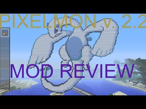MINECRAFT. Pixelmon 2.2 for 1.5.2 mod review.
