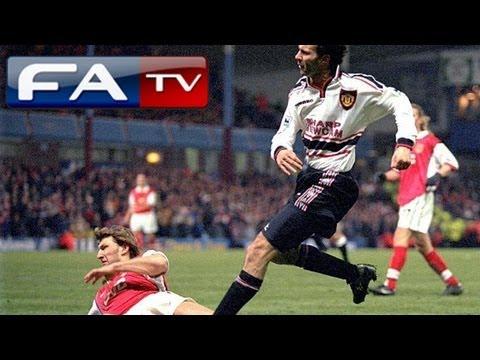 Giggs goal & Manchester United 2-1 Arsenal - FA Cup semi final replay 1999   FATV
