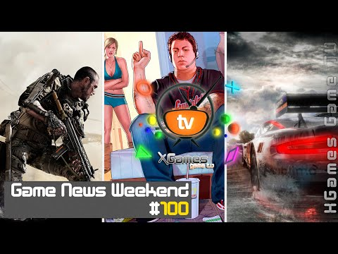 Game News Weekend - #100 от XGames-TV (Игровые Новости)
