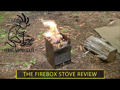 Folding Firebox Campfire Stove - Review