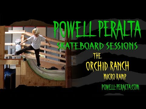 Powell Peralta Skateboard Sessions - Orchid Micro Ramp
