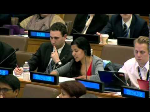 Tessa Khan, Asia Pacific Forum on Women Law and Development, Women's Major Group