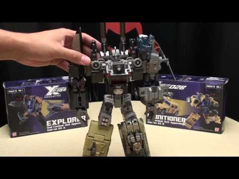 Fansproject MUNITIONER/EXPLORER: Bruticus Mode: EmGo's Transformers Reviews N' Stuff