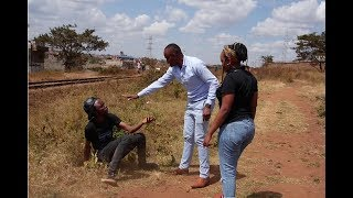 Ajaabu comedian brother Apatikana get arrested in Githurai