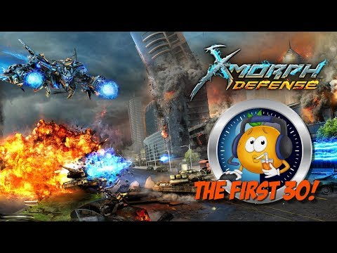 The First 30 - Xmorph: Defense First Look! Tower Defense Shooter!