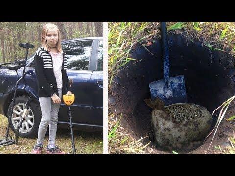 Дочь нашла тайник в лесу! ПАПА В ШОКЕ! Нашли клад.