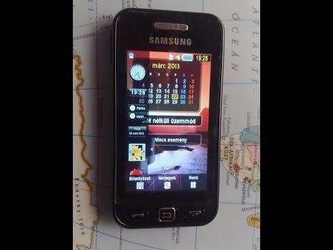 Change language on Samsung S5230 Star