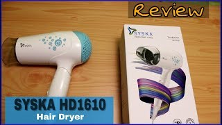 SYSKA Hair Dryer HD1610 with Cool and Hot Air  | under Rs 1000