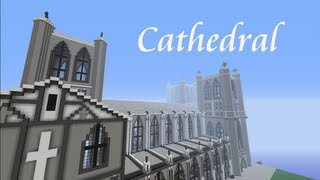 Minecraft MegaBuild - CATHEDRAL