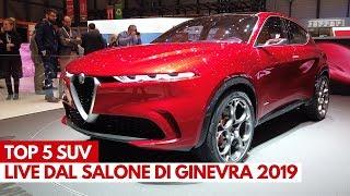 Top 5 SUV   Salone di Ginevra 2019