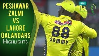 PSL 2017 Match 6: Peshawar Zalmi v Lahore Qalandars Highlights