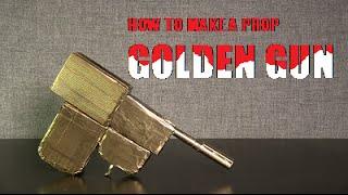How to Make A Prop Golden Gun - 007 - James Bond