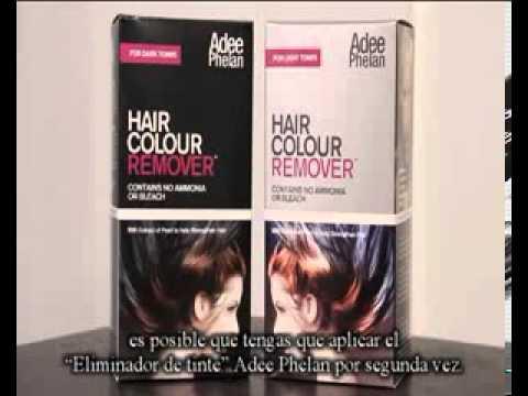 ADDE PHELAN HAIR REMOVER - ELIMINA EL TINTE DE TU PELO