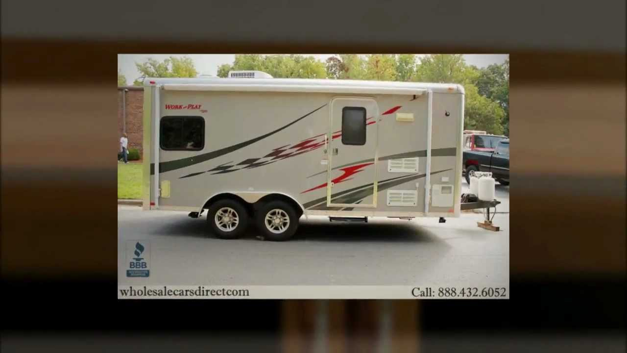 2010 forest river work n play toy hauler trailer for sale
