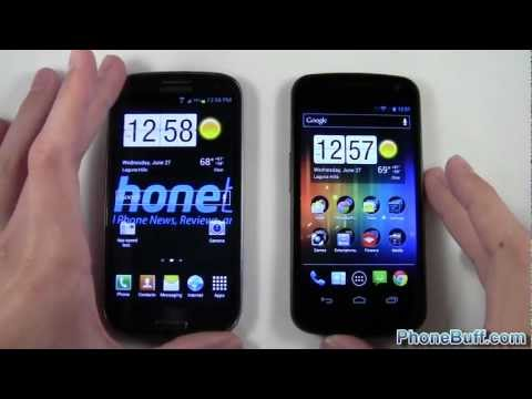 Samsung Galaxy S3 vs. Galaxy Nexus Speed Comparison