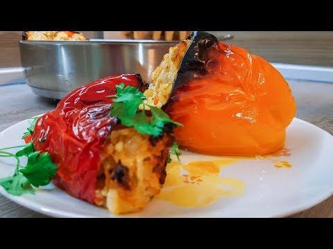 Перец Фаршированный С Мясом И Рисом. (Домашний, Пошаговый Рецепт)