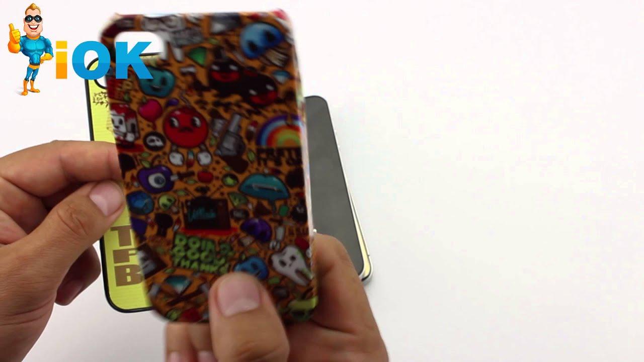 Нанесение фото на чехол iphone