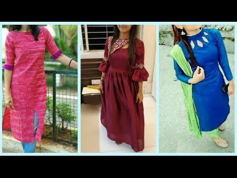 Top 40 Beautiful Kurti/Salwar/Churidhar Designs || Stylish Kurti Patterns