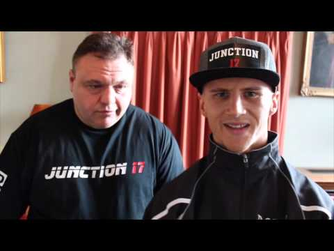 TOMMY MARTIN & BARRY SMITH TALK TO iFL TV AHEAD OF ENGLISH TITLE CLASH : BOYLAN v MARTIN