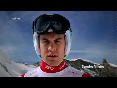 Helvetia Assurances: Publicité TV avec Sandro Viletta - départ