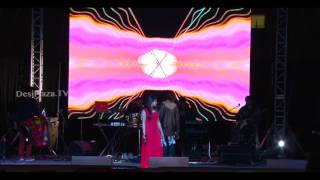 Kushal Paul and Jyotica Tangri entertaining Dallas audience together with live song performances