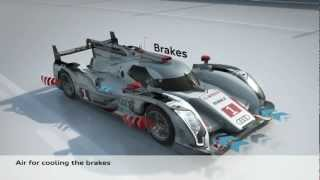 How It Works: Audi R18 e-tron Quattro Hybrid -  animation