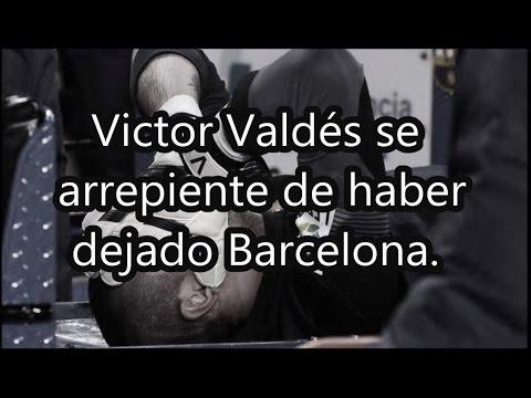 Victor Valdés se arrepiente de haber dejado Barcelona | Fútbol Social