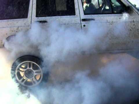 Jeep Cherokee XJ 4.0 burnout