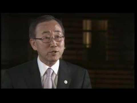 Talk to Jazeera - Ban Ki-moon - 20 Sep 07 - Part 1