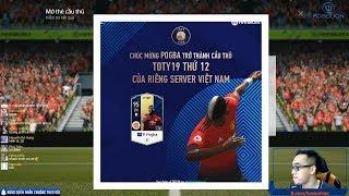 FIFA Online 4 | Test vài gói Kim Cương 19 TOTY săn Pogba và cái kết nhói lòng
