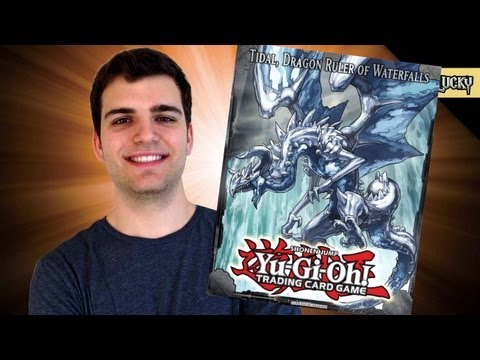 Best Yugioh 2013 Tidal, Dragon Ruler of Waterfalls Tin Opening Ever! OH BABY!!!.. Epic o.O