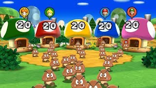 Mario Party 9 - All Brainy Minigames