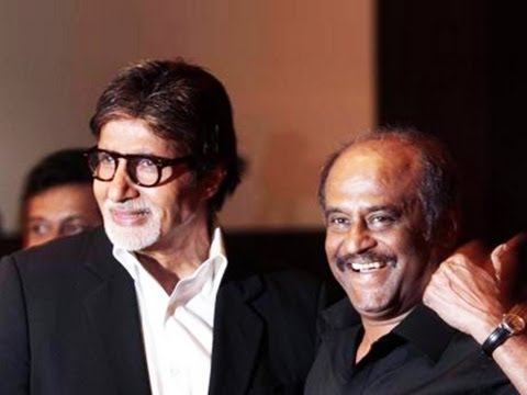 Rajini surprised Amitabh in Chennai