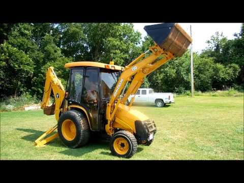 2005 John Deere 110 TLB tractor loader backhoe for sale   sold at auction July 31. 2013