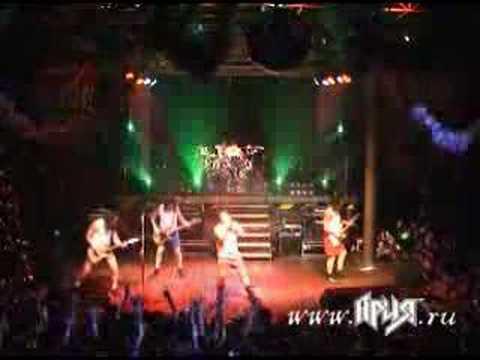Ария - Новый Год (Aria - New Year) 2007 live  Елочка