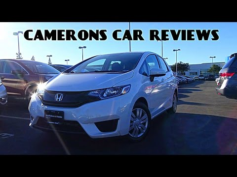 2016 Honda Fit LX 1.5 L 4-Cylinder Review | Camerons Car Reviews