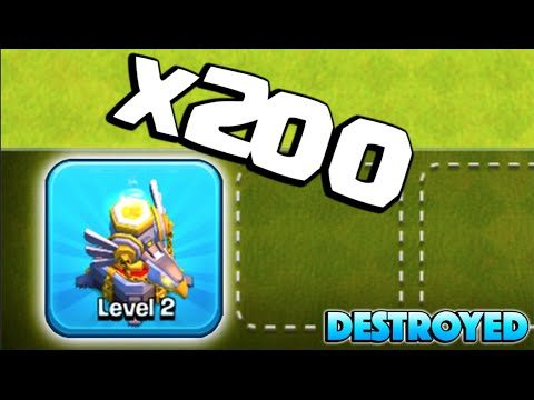 200+ EAGLE ARTILLERIES DOWN! - Clash of Clans - Big Loot 3 Star Attacks!