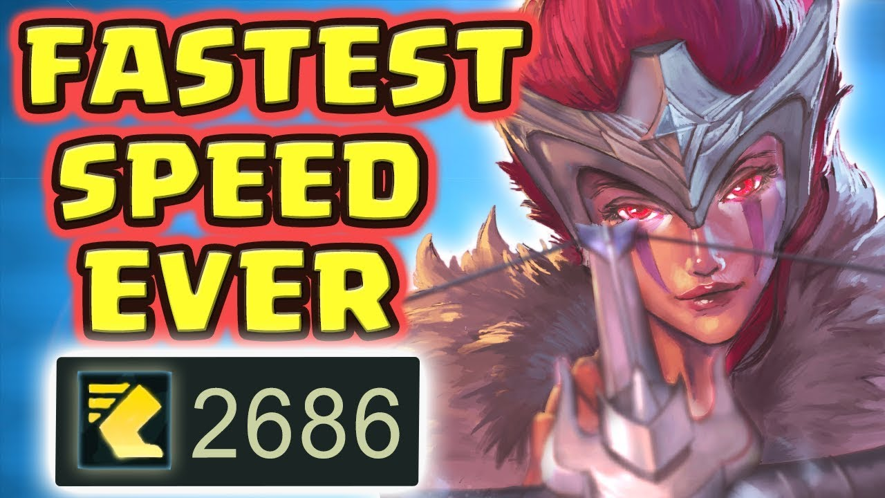 THIS WILL 100% BE NERFED!! THE FASTEST SPEED EVER | PREDATOR QUINN JUNGLE | NO COUNTER - Nightblue3