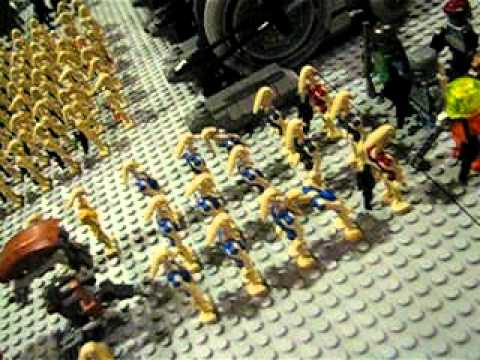 my new lego star wars droid army!!