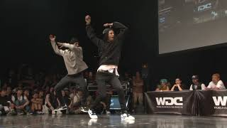 RUSH BALL vs Les Twins WDC 2019 FINAL HIPHOP  #WDC