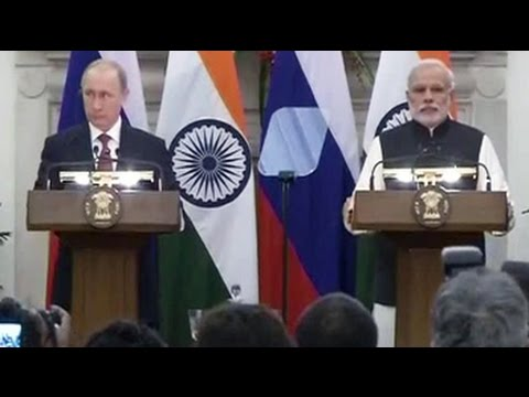 Watch: PM Modi-President Putin's joint press statement