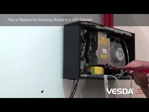 VESDA-E VEP: How to replace Sampling Module