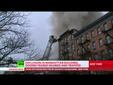 East Village Explosion:Building collapses, people injured