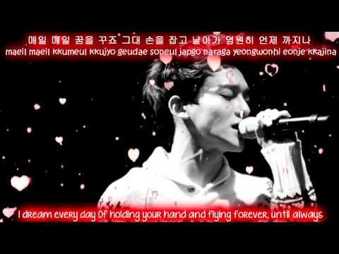 EXO Chen - Best Luck Eng Sub + Romanization + Hangul HD
