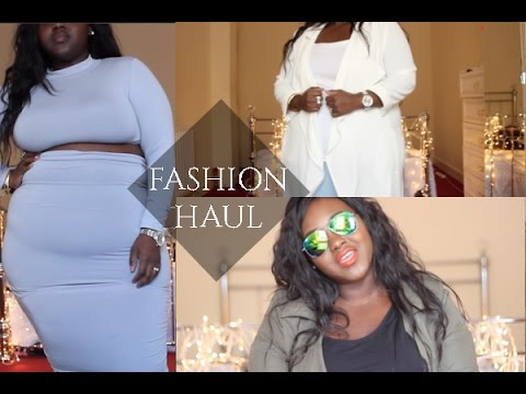 Fashion Nova Haul Plus Size PLUS SIZE FASHION HAUL